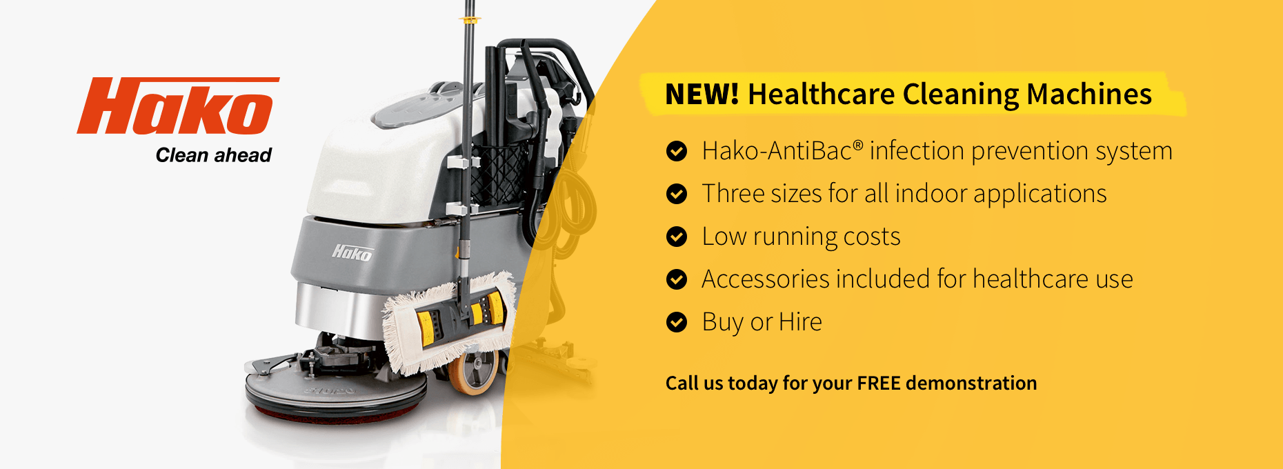 Hako Healthcare Cleaning Machines