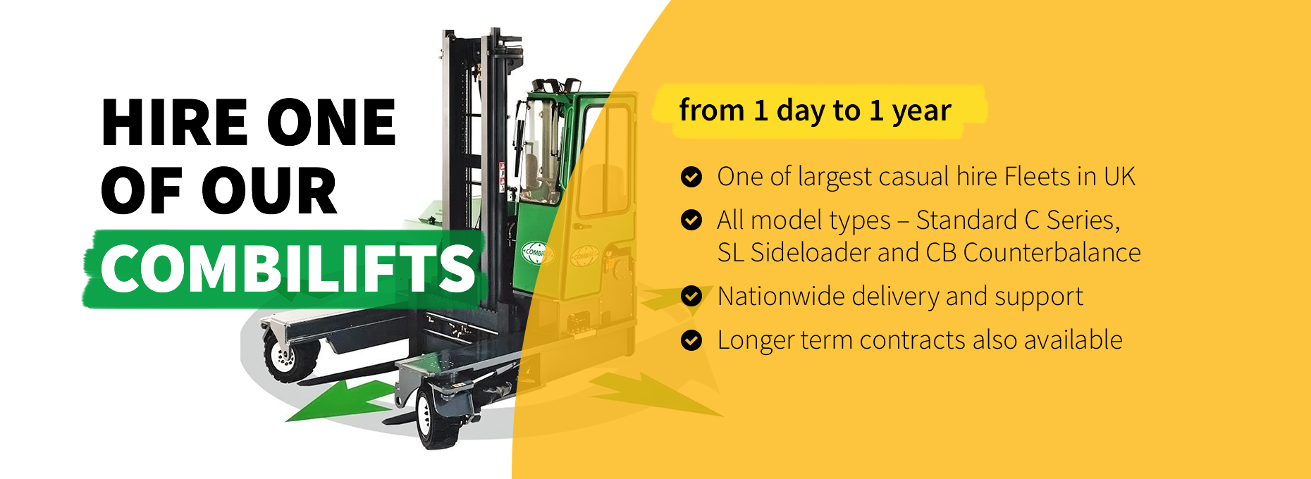 Hire Your Combilift From Ability