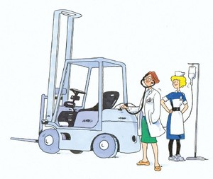 Is your fork lift truck in good shape – or is it a health hazard?  Insist on seeing a CFTS specialist for all your Thorough Examinations.