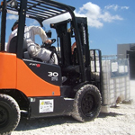 Forklift Truck Maintenance of Tyres
