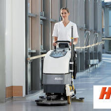Our new & exclusive Hako healthcare cleaning machine range