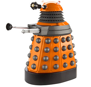 Chesterfield firms new JLG 20MVL high level stock picker has been christened the Dalek for its ability to exterminate its workload and turn on the spot (and no, it does not really look like this!).