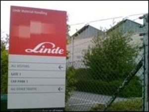 linde ends basingstoke production