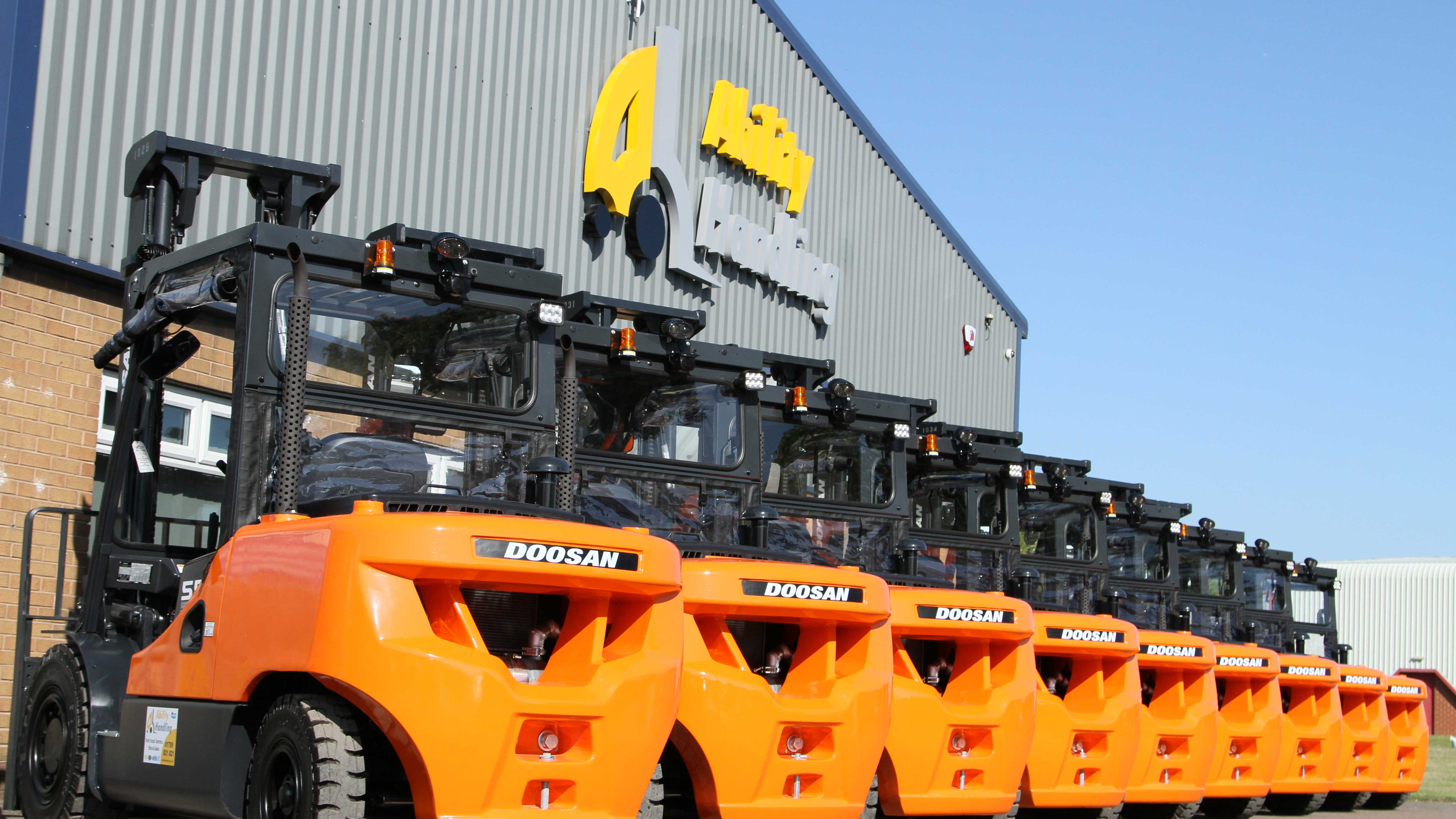 Outokumpu Avoids Downtime With Doosan Dpf Free Heavy Lifting