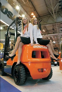 See the attractive new Doosan Models at IMHX 2010