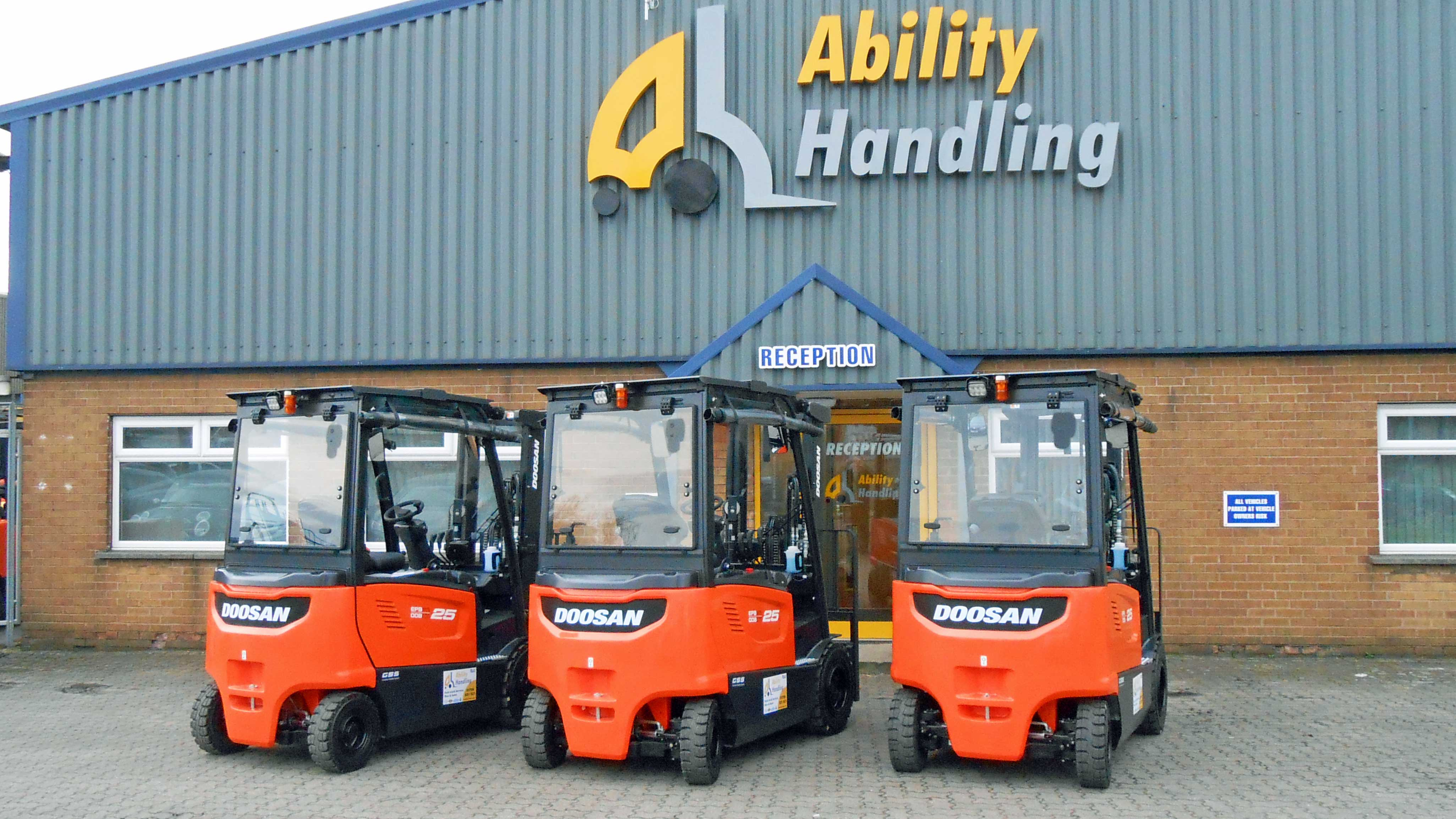 The most secure Doosan electric trucks ever!